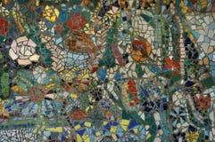 Мозаика стены Стоковая Фотография RF