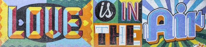 Мозаика стены Стоковое фото RF