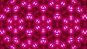 Мозаика с светами фрактали сияющими, компьютер перевода 3d производя предпосылку Стоковое Изображение RF