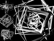 Мозаика хаотического солдата нерегулярной армии, случайных квадратов Repeatable backgrou Стоковые Фотографии RF