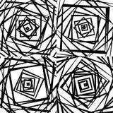 Мозаика хаотического солдата нерегулярной армии, случайных квадратов Repeatable backgrou Стоковое фото RF