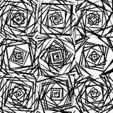 Мозаика хаотического солдата нерегулярной армии, случайных квадратов Repeatable backgrou Стоковые Изображения RF