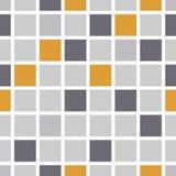 Мозаика цвета предпосылки также вектор иллюстрации притяжки corel Стоковые Изображения RF