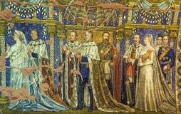 Мозаика церков Kaiser Wilhelm мемориальная, Берлин Стоковое фото RF