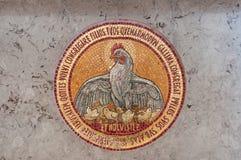 Мозаика цыпленка детали Стоковая Фотография