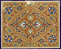 мозаика oriental украшения Стоковая Фотография