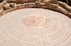 Мозаики в Кипре Стоковое фото RF