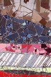 Мозаики детали керамические стеклянные Стоковая Фотография RF