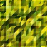 Мозаики сделанные геометрических форм, зеленый Стоковые Изображения RF