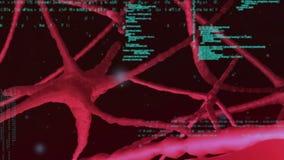 Мозг и коды иллюстрация штока