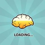 Мозг нагружает Стоковые Фотографии RF