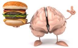 Мозг потехи Стоковые Изображения RF