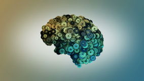 Мозг Clockwork сток-видео
