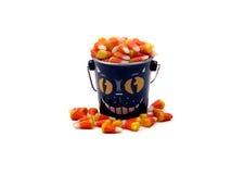 мозоль конфеты halloween ведра Стоковые Фотографии RF