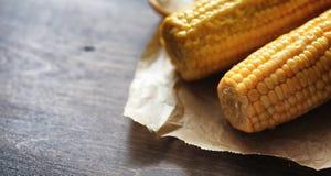 мозоль свежая Естественная еда от удара мозоли с солью Сельский мексиканец Стоковая Фотография RF