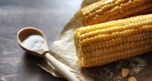 мозоль свежая Естественная еда от удара мозоли с солью Сельский мексиканец Стоковое Изображение RF