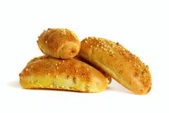 мозоль хлеба предпосылки свертывает малую белизну Стоковые Изображения RF