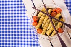 Мозоль младенца с маринадом сои соевого соуса, розмаринового масла, оливкового масла Стоковые Изображения