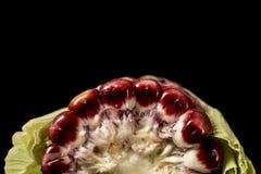 мозоль удара предпосылки сфотографировала белизну Стоковое Изображение RF