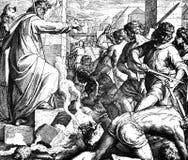 Моисей и золотая икра Стоковое Изображение