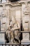 Моисей Микеланджело Стоковое Фото