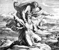 Моисей осматривает землю обетованную Стоковое фото RF