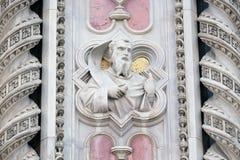 Моисей, портал собора Флоренса Стоковая Фотография