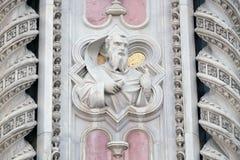 Моисей, портал собора Флоренса Стоковое Изображение