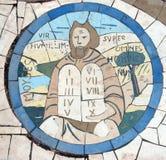 Моисей проводя 10 заповедей Стоковое Изображение RF