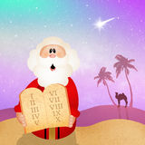 Моисей с 10 заповедями Стоковые Фотографии RF