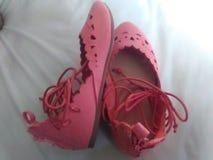 Мои ботинки причудливого платья babys стоковая фотография rf