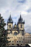Мои памяти и впечатления от рождества 2018 Праги стоковые фото
