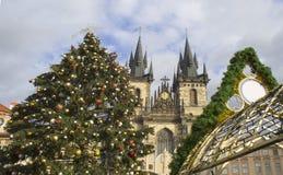 Мои памяти и впечатления от рождества 2018 Праги стоковое фото