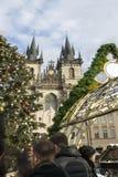 Мои памяти и впечатления от рождества 2018 Праги стоковое изображение rf