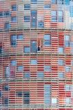 Мойщик окон в небоскребе Стоковые Фотографии RF