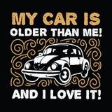 Мой автомобиль старе чем я Стоковое Фото