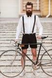 Мой велосипед необходим к моему стилю Стоковая Фотография RF