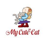 Мой милый кот Стоковые Фото