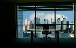 мой офис Стоковые Изображения