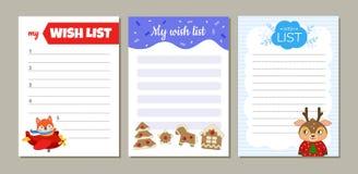 Мой список целей бесплатная иллюстрация