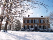 Мой старый дом Кентуккии Стоковая Фотография RF