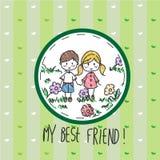 Мой лучший друг Стоковые Изображения RF