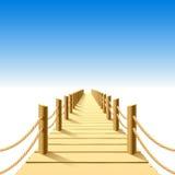 мола деревянная Стоковое Фото