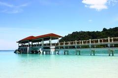 мола острова Стоковая Фотография RF