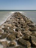 мола трясет море к Стоковое Фото