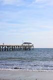 мола усадьбы пляжа adelaide Австралии стоковые фото