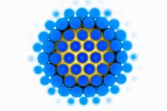 Молекула для проекта науки стоковые фотографии rf