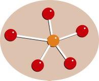 молекула Стоковое Изображение