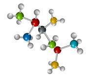 молекулы Иллюстрация вектора