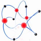 молекулярная схема Стоковые Фото